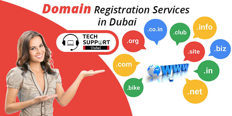 Domain registration services in Dubai