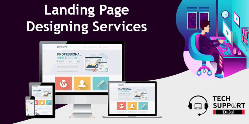 Landing Page Designing Services