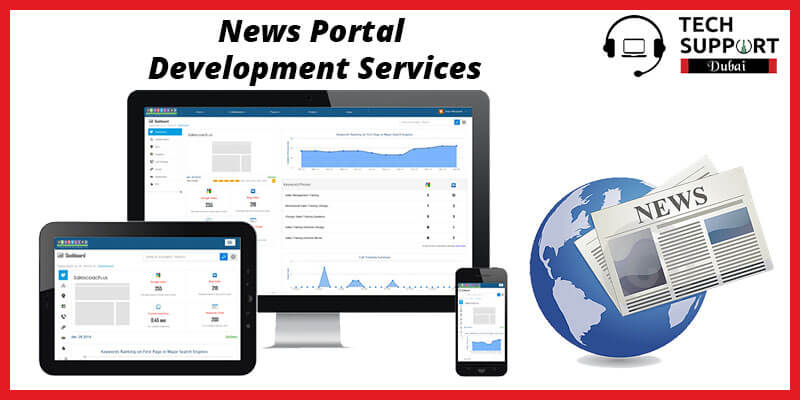 News portal development services