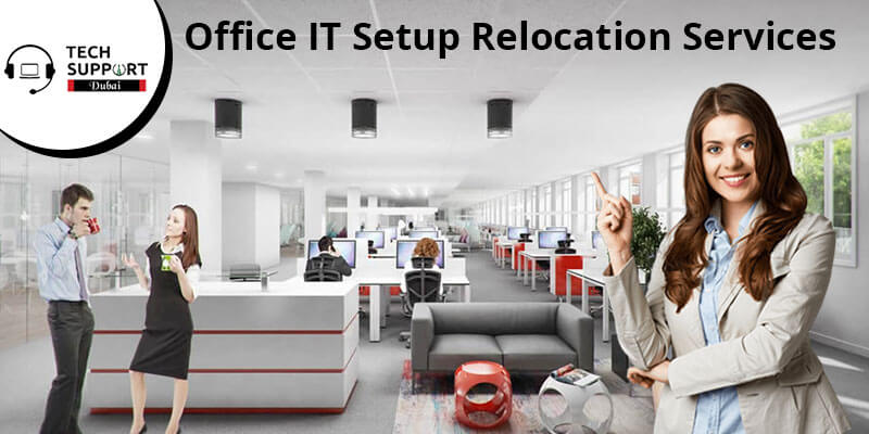 Office IT Setup Relocation services
