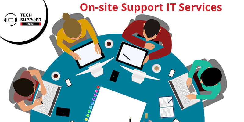 On-site support IT Services