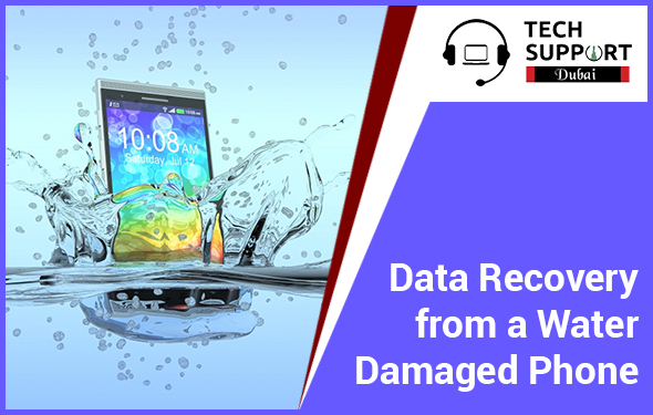 Data Recovery from a Water Damaged Phone